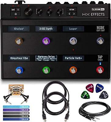 Amazon com: Line 6 HX Effects Processor Bundle with 2-Pack