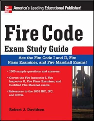 Fire Code Exam Study Guide Robert Davidson 9780071493734