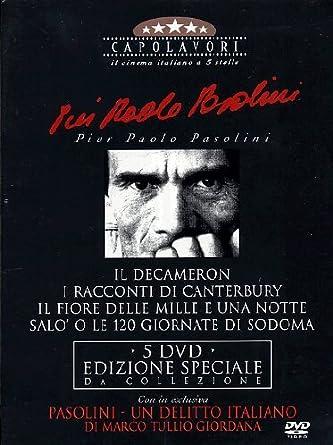 Pier Paolo Pasolini - I Capolavori (5 Dvd) [Italia]: Amazon.es ...