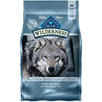 Blue Wilderness High Protein Grain Free Adult Dry Dog Food (4.5 lb)