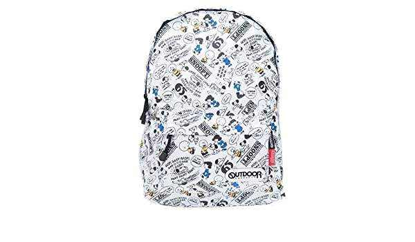 Amazon.com: OUTDOOR Peanuts Snoopy Nylon Backpack from Japan: Home & Kitchen