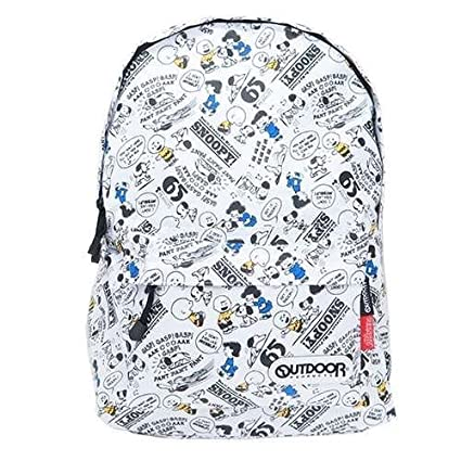 Amazon.com: OUTDOOR Peanuts Snoopy Nylon Backpack from Japan ...