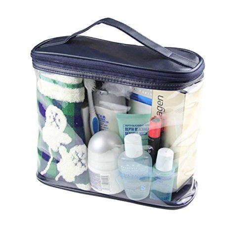 BeeChamp Toiletry Accessories Transparent Cosmetics