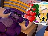 Clip: Bonnie Falls in Love with a Human! - Minecraft F.N.A.F Hotel