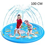 Sprinkle and Splash Play Mat Kids Sprinkler Toy Outdoor Water Toys Fun for Infants and Toddlers Children Outdoor Party Sprinkler Toy Splash Pad