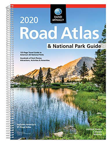 Rand McNally 2020 Road Atlas & National Park Guide: United States, Canada, Mexico