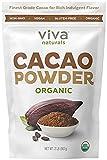 #7: Viva Naturals Organic Non-GMO Cacao Powder, (2 LBS (2 Bag))