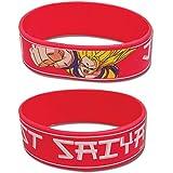 Dragon Ball Z Just Saiyan Wristband PVC