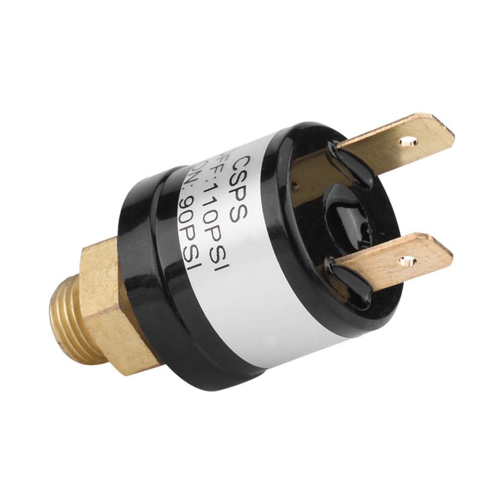 90-110 PSI KIMISS DC12-36V 3A Universal Car Air Compressor Switch Air Pressure Control Switch