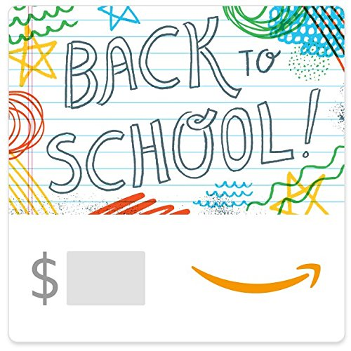 The Back To School - Amazon eGift Card -Back to School