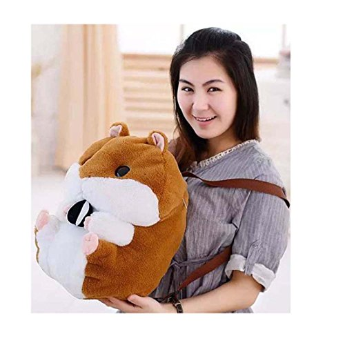 XMiniLife(TM) large Capacity Stuffed Hamsters/Rabbit Doll Backpack (Hamsters)