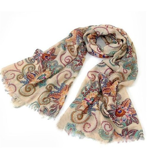 niceeshop(TM) Charming Beautiful Polka Dot Scarf Wrap Women Lady Girl Shawl