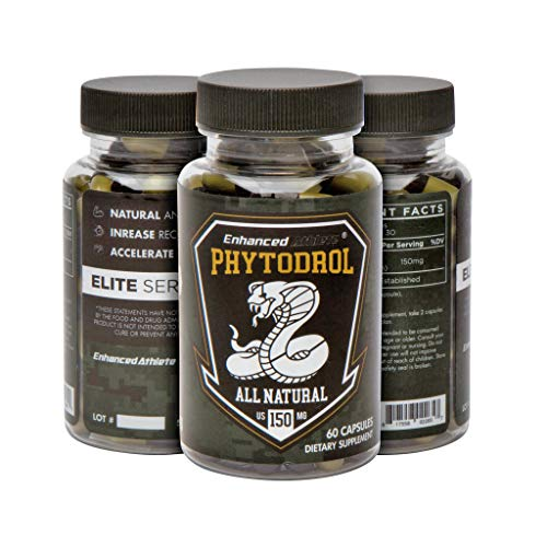 Enhanced Athlete Phytodrol- Natual Anabolic Supplement, Increase Recovery, Reduce Stress Levels