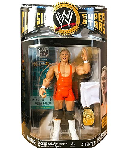 ing Classic Superstars Mr. Perfect Curt Hennig Wrestling Action Figure with Intercontinental Championship Belt (Series Wwe Watch)