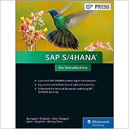 Amazon com: SAP S/4HANA: An Introduction (1st Edition) (SAP