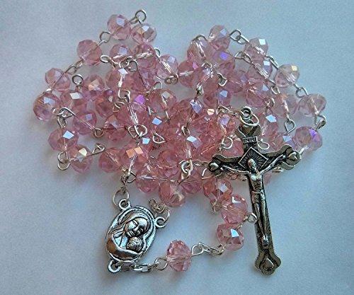 Crystal Rosary Crucifix - 8