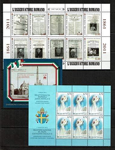 LaVecchiaScatola 2011 Vaticano Annata Completa + 1 Libretto + 3BF