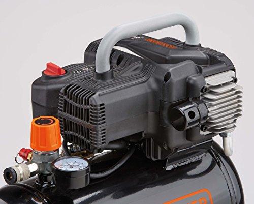 BD195//6//NK Orange Black+Decker NKBB304BND008 Direct Driven Oilless Air Compressor 230 V