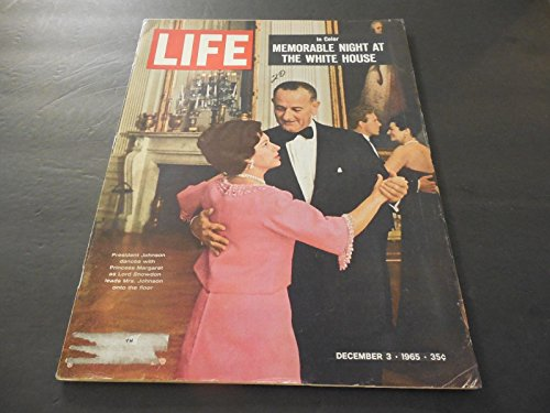 Vintage Collectible Dancing Glass - Life Dec 3 1965 Dancing Fools; Cassius Clay; War On Poverty; Gemini Mission