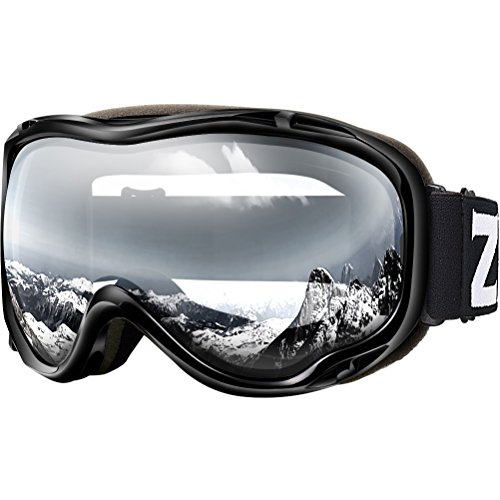 (Zionor Lagopus Ski Snowboard Goggles UV Protection Anti-Fog Snow Goggles for Men Women Youth)