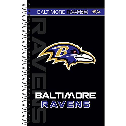 C.R. Gibson Hardcover Spiral Journal, Baltimore Ravens (Baltimore Ravens Spiral)