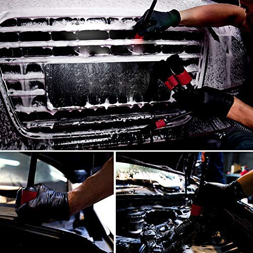 Reinigungsb/ürsten 5 Teile Detailb/ürsten weiche Borsten ZUKABMW Auto-Detailing B/ürsten-Set B/ürste f/ür die Reinigung von R/ädern//Motor//Innen//Embleme//Innen//Au/ßen//Bel/üftungs/öffnungen