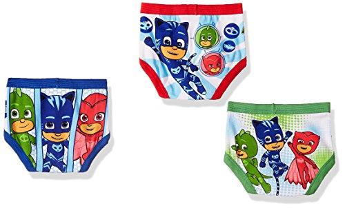 PJ Masks Toddler Boys' 7-Pack Brief Underwear, PJ Mask Tboy-Multi, 4T by PJMASKS (Image #2)