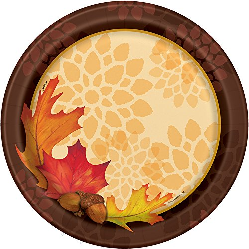 Fall Leaves Dinner Plates, 8ct]()
