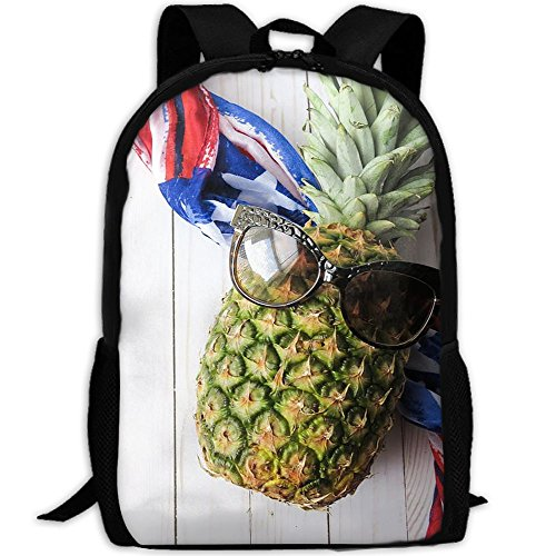 Cool Pineapple Backpack Briefcase Laptop Travel Hiking School Bags Stylish Daypacks Shoulder Bag