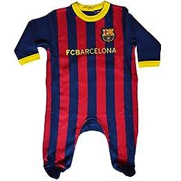 Grenouillère bébé Barca - Collection Officielle FC Barcelone
