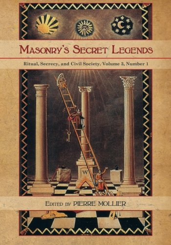 Download Masonry's Secret Legends: Volume 3, Number 1 of Ritual, Secrecy and Society ebook