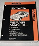 1993 Toyota Paseo Repair Manual (EL44 Series, Complete Volume)