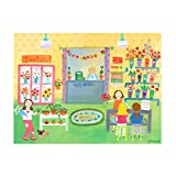 Oopsy Daisy Flower Shop Stretched Canvas Art, 24'' x 18''
