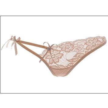 MSAJ Ropa interior de Malla Transpirable de Encaje para Mujer, Ropa Interior de Encaje Sexy