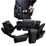 OlogyMart 8 in 1 Multifunctional Tactical Patrol Duty Belt Swat Tactical Gear Security Equipment Police Belt