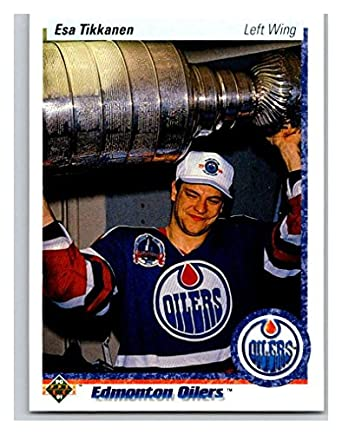 newest eb884 e8efc Amazon.com: Hockey NHL 1990-91 Upper Deck #167 Esa Tikkanen ...