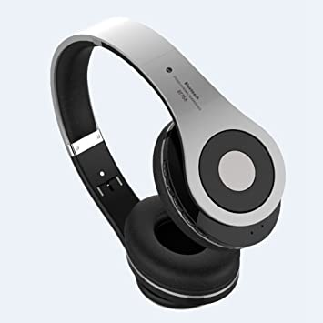 Gaming Headset Inalámbrico, Bluetooth Overhead Auriculares ...