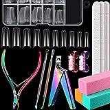 Acrylic Nail Clipper Kit, Included Acrylic Nail
