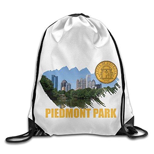 Piedmont Park Atlanta Georgia Shoulder Drawstring Bag Backpack String Bags School Rucksack Gym - Of Georgia Mall Atlanta