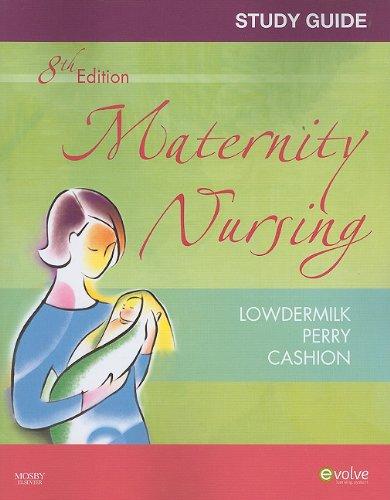 Study Guide for Maternity Nursing - Revised Reprint, 8e