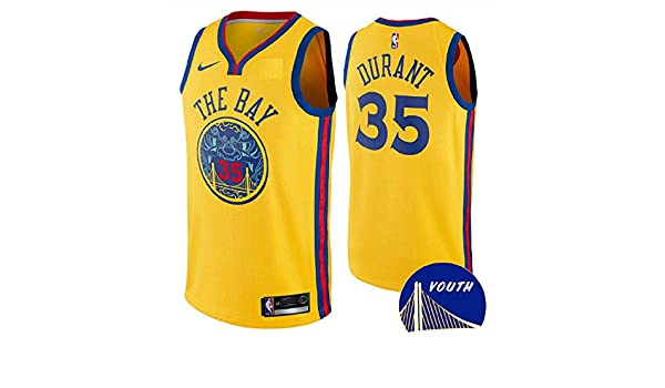 Amazon.com   Nike Youth Golden State Warriors Kevin Durant  The Bay  Swingman  Jersey (Large)   Sports   Outdoors 4d1dbfe99