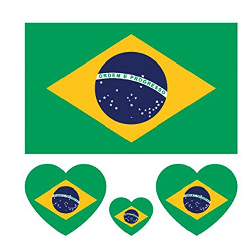 Set 10 X Temporary Tattoos 2018 World Cup FIFA Tattoo Sticke