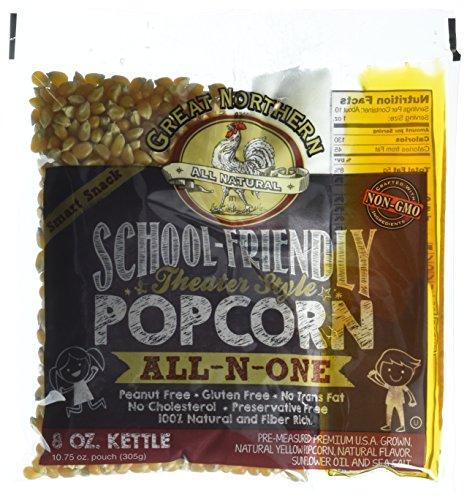 great northern 8 oz popcorn packs - 4