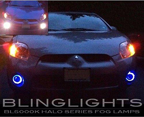 Mitsubishi Eclipse Fog Driving Light - Blue Halo Fog Lamps Driving Lights Kit for 2006 2007 2008 Mitsubishi Eclipse