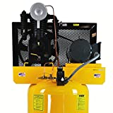 EMAX Compressor EP05V080I1 Premium Series 5 hp 80 gallon Vertical 2-Stage 1-Phase 2-Cylinder Piston Air Compressor