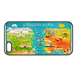 a Map of Ice and Fire IPhone 5,5S Cases, Kweet - Black