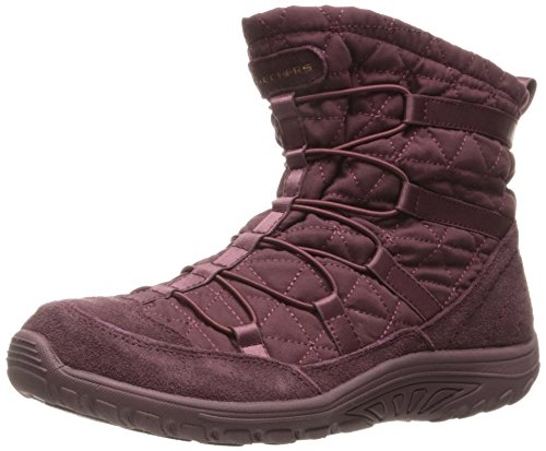 Skechers Reggae Fest femminile Steady Quilted Bunny Bootie, Raspberry