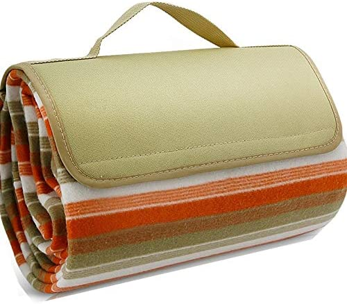 Scuddles Outdoor Blanket Water Resistant Striped