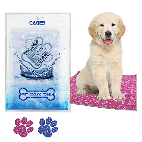 Way 2 Cool Pet Microfiber Cooling Towel Image