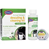 Urnex K-Cup Descaler and Cleaner - Simple 2 Step - Professional K-Cup Coffee Maker Cleaning System Use With Keurig